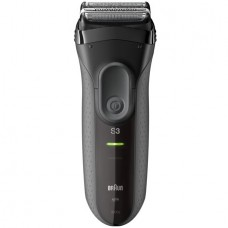 Braun Series 3 ProSkin 3000s Electric Shaver for Men / Rechargeable Electric Razor, Black