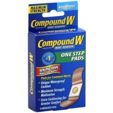 Compound W Wart Remover Pads, 14 CT (Pack of 6)