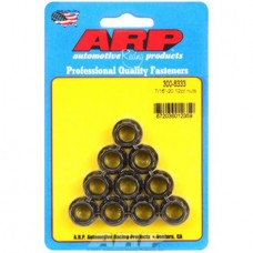 ARP 3008333 12 Point Flanged Nut Kit 8740 Chrome Moly 0. 44-20 x 0. 5 inch Wrenching, 10 Per Pack