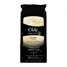 Olay Total Effects 7-in-1 Wet Face Wipes, 30 Count