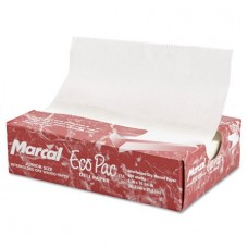 Marcal Eco-Pac Natural Interfolded Dry Wax Paper, 500 count, (Pack of 12)