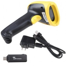 AGPtek Portable Wireless USB Barcode Scanner - Perfect for Supermarket Warehouse Library Bank Hotel