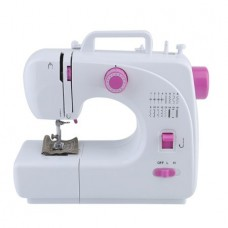 Sewing Machine Free-Arm Crafting Mending Machine with 16 Built-In Stitched White