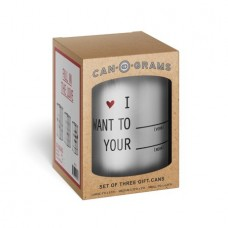 Fill In The Love Can-O-Grams - What I Love About You