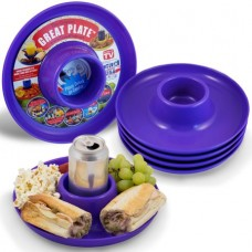 Great Plate Purple 6 Pack