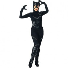 Women's Catwoman Costume, One Size