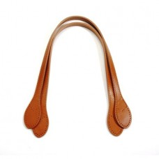 23 byhands Genuine Leather Purse Handles, Camel (32-5904)