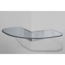 Easy Corner Shelf by CornerMate CLEAR OUTER CORNER