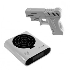 Gun & Target Recordable Alarm Clock by Hey. Play.