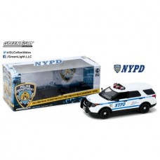 1:18 2015 Ford Police Interceptor Utility New York City Police Department (NYPD)