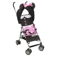 Disney Comfort Height Character Umbrella Stroller with Basket, Minnie Dress Up