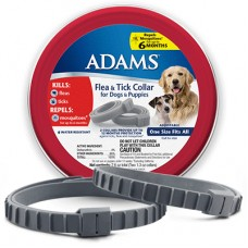Adams Flea and Tick Collar for Dogs, One Size 2 Pack