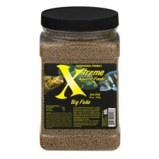 Big Fella Medium and Hearty Eater Tropical Fish Food, Slow Sinking, 3mm Pellet- 40 oz